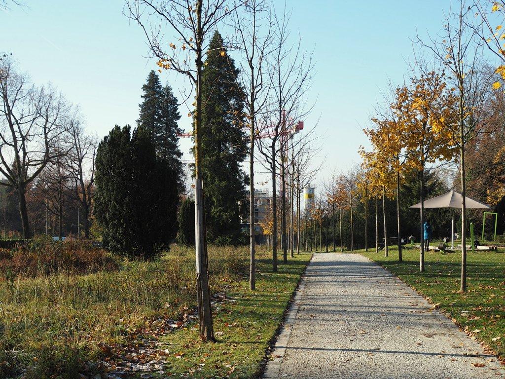 Place de jeux de la promenade de Sallaz
