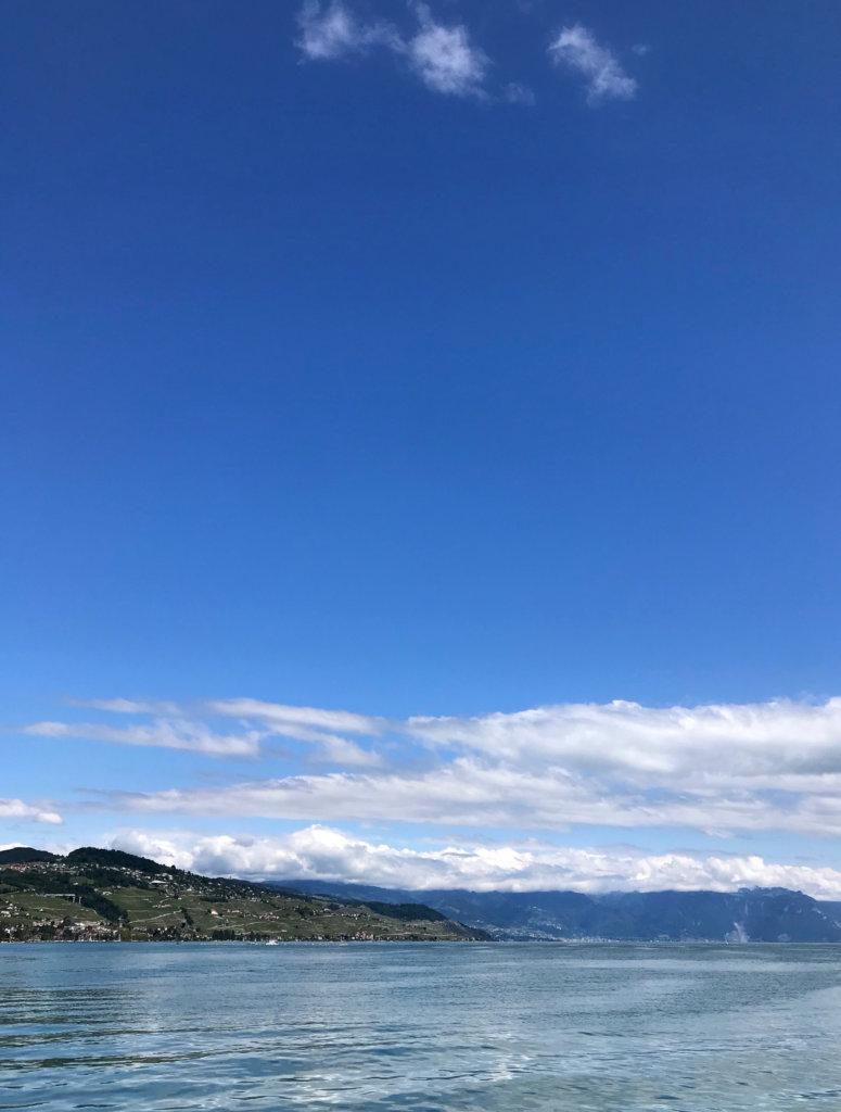 Lausanne Vevey en Bateau