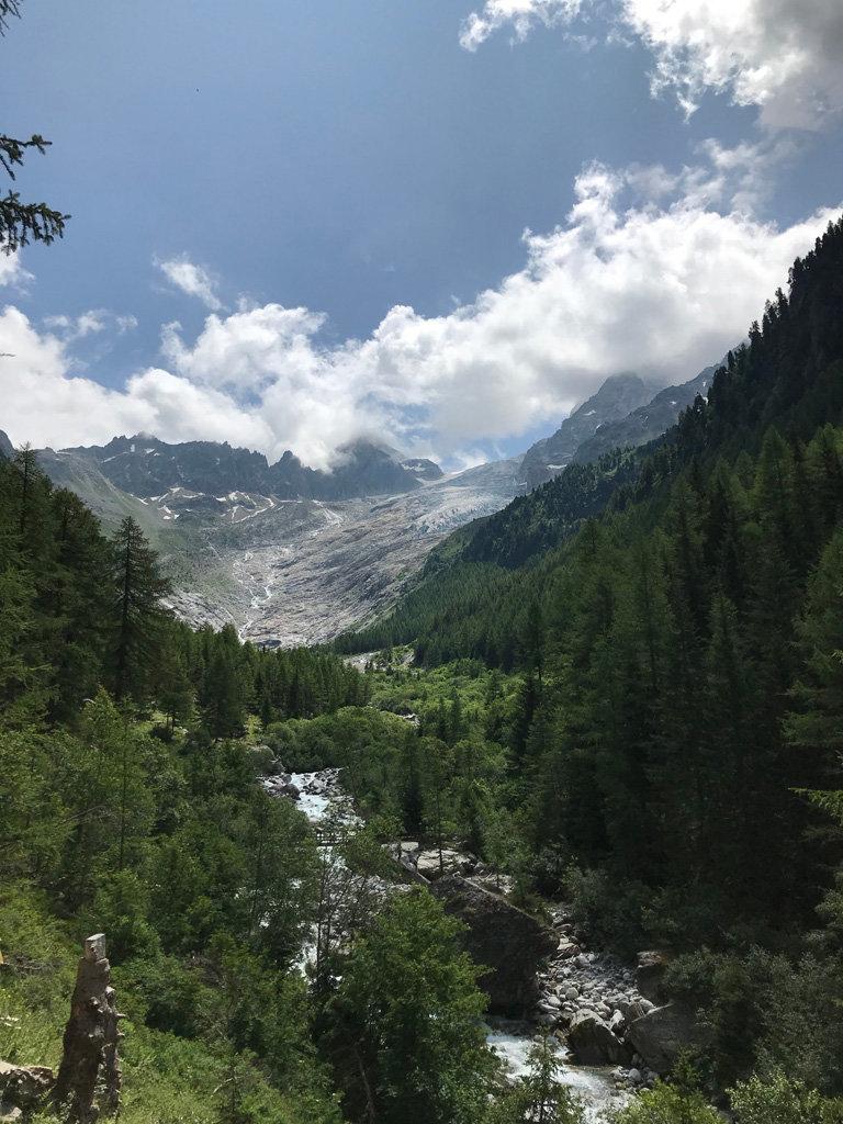 Buvette du glacier du Trient, en balades